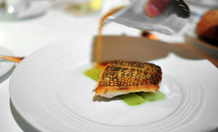6th Course: Black Bass (Chef's Tasting)