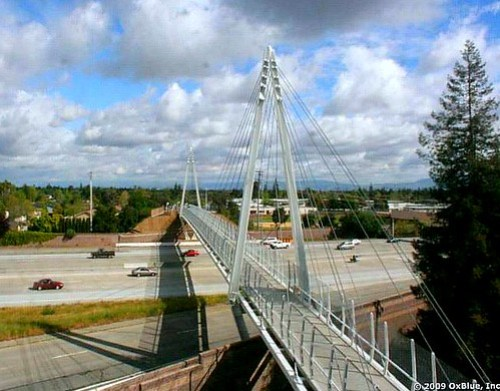 Cupertino Mary Avenue bike bridge