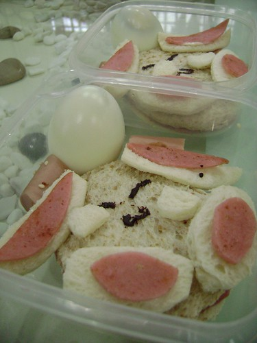 Mokona sandwich by felvinc, Created/posted on 4/30/2009
