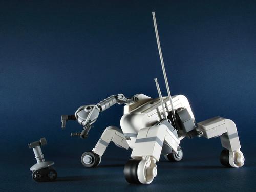 LEGO industrial robot