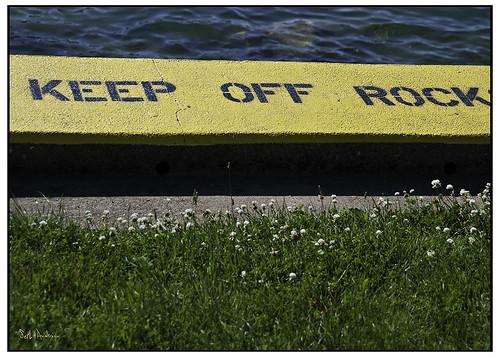 Keep Off Rock