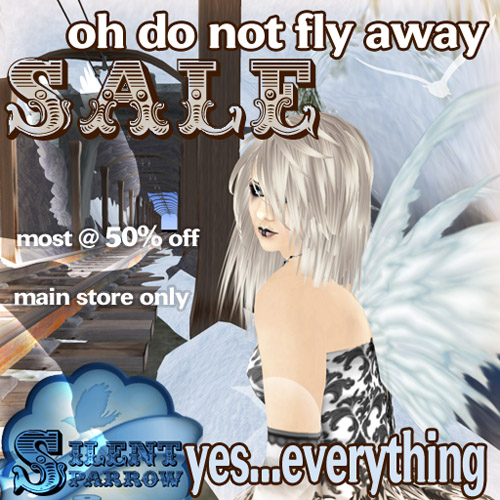 Oh Do Not Fly Away Sale at ~silentsparrow~