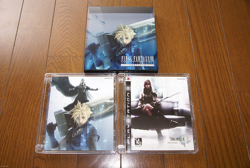 FF VII Advent Children Complete + FF XIII Trial