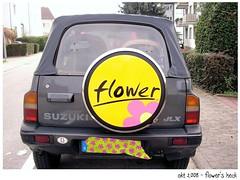 flowers back