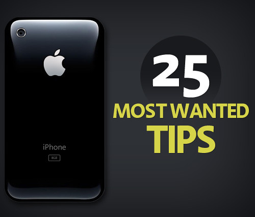 iphone 3g tips