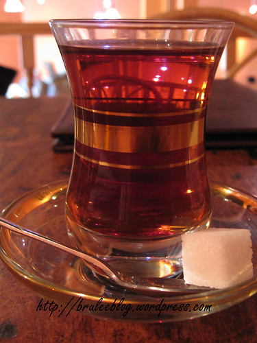Turk Cayi (Turkish tea)