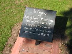 Middlesbrough Memorial Garden, Navy and Marines, Albert Park