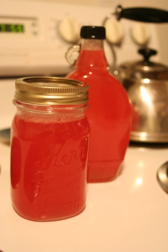 Rhubarb Syrup