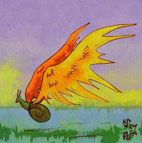 Illustration Friday: Unfold