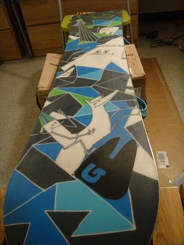 Snowboard Waxing