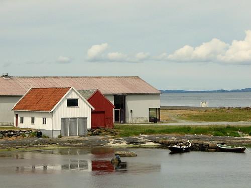 Deserted harbour