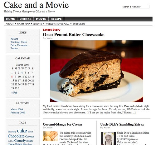 Cake and a Movie