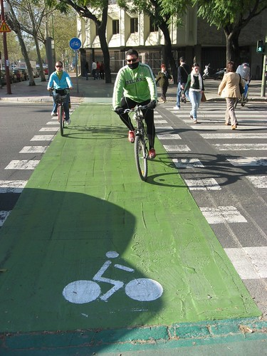 Carril bici Sevilla