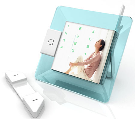 Digital Photos frame with telephone