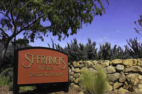 Entree du Domaine St Francis - Sonoma, CA