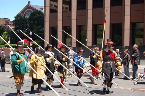 Salem Company marching