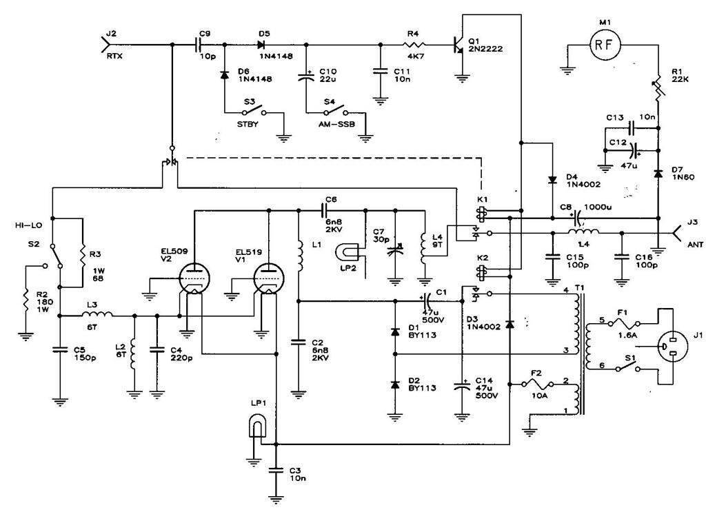 small fm radio schematic