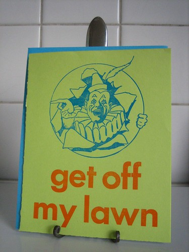 Get off my lawn! Damn Kids.
