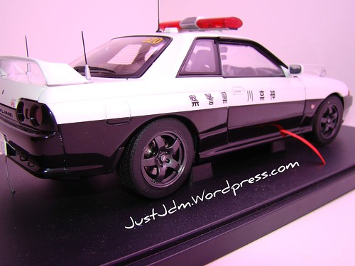 AA Skyline R32 Police (1)
