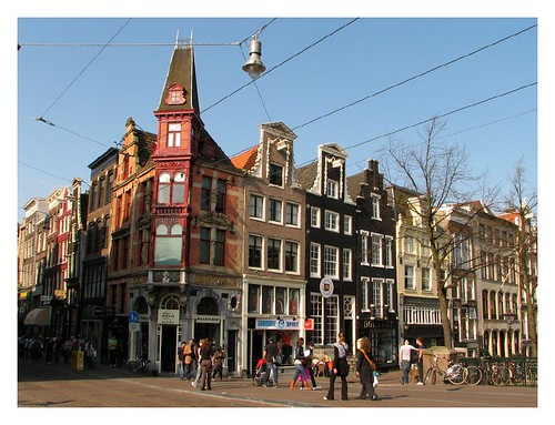 Amsterdam street in the morning by you.