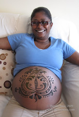 Nicole henna belly 2
