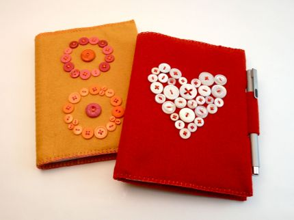 Diane Gilleland's Button Journals