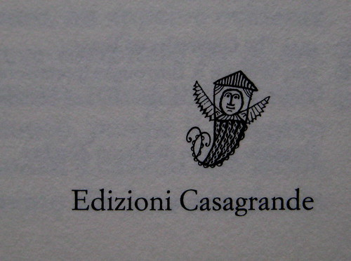 Denton Welch, In gioventù il piacere, Casagrande 2003, frontespizio (part.) 2