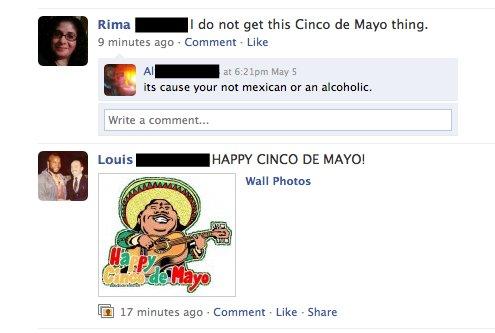 Weird Facebook Status Juxtapositions