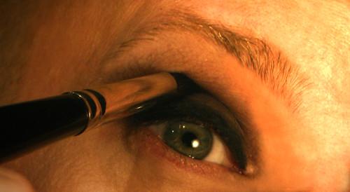 Softening edges with a blending brush