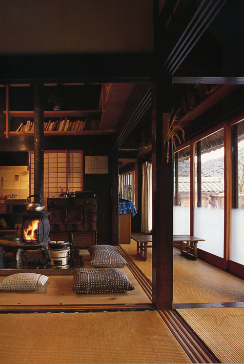 Ouno Design  Japanese interiors  updated traditional farmhouses