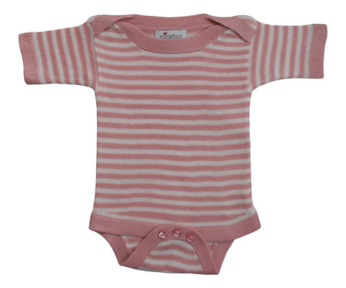 short sleeve onesie pink blush