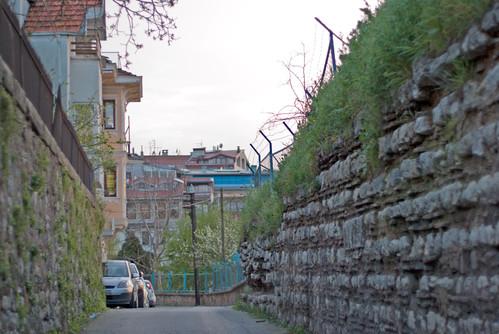 Üsküdar Şemşipaşa bölgesi, Semsipasa street, İstanbul