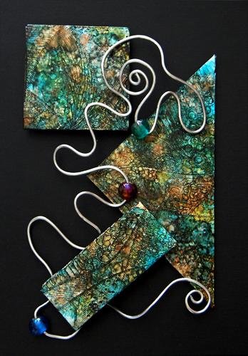 mini art #23 (c) 2009, Lynne Medsker