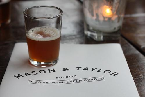 Kernel Coffee IPA at Mason & Taylor