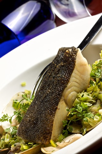 Seabass and Clams