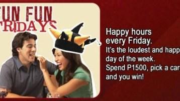 TGI Fridays - Fun Fun Fridays