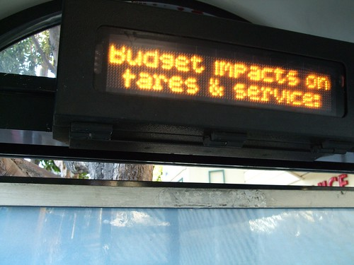 Budget Cuts on Muni