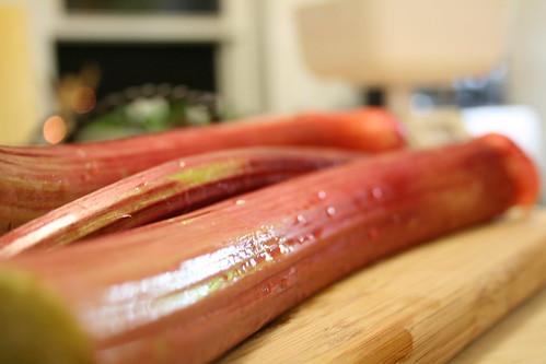 Rhubarb Compote Tarts