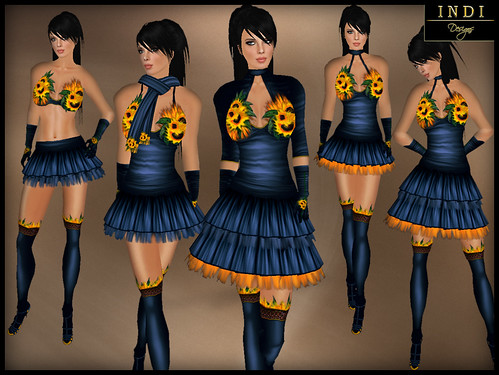 FDC outfit - Sunflowers
