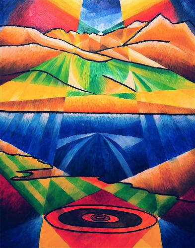 Ladhar Bheinn, 2004, oil on canvas
