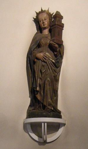 Dorfkirche Schöneberg - Heilige Barbara