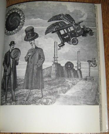 Carelmans interpretation of the story as a Surrealist collage