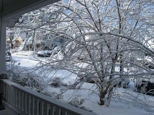 Snow, March 2