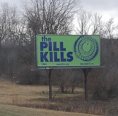 Pill Kills billboard