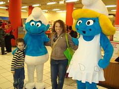 Aidan, Me, and Smurfs