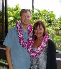 Chas & Kem arrive in Honolulu