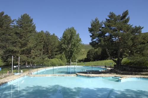 La piscina está completamente operativa en verano