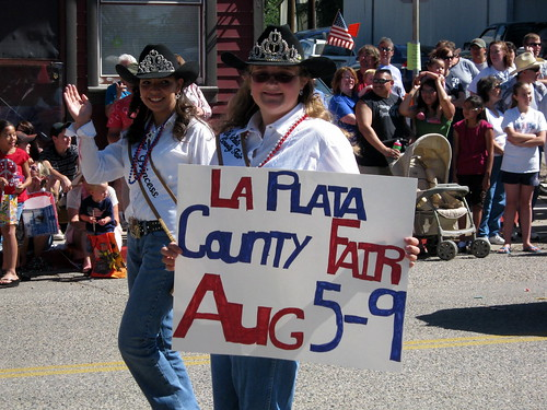 Im so excited about the La Plata County fair. Theres a demolition derby and homebrew competition