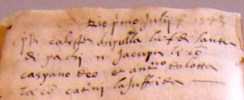 DI PACE in Codex A