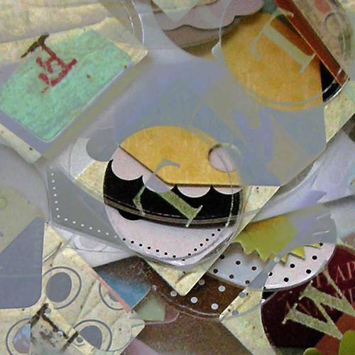 alphabet & scraps, close up #3 (c) 2009, Lynne Medsker